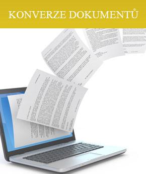 konverze dokumentů